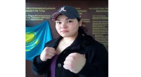 Первокурсница КазНУ Умида Садыкова завоевала серебряную медаль по боксу